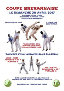 Affiche coupe brevannaise 30 Avril 2017