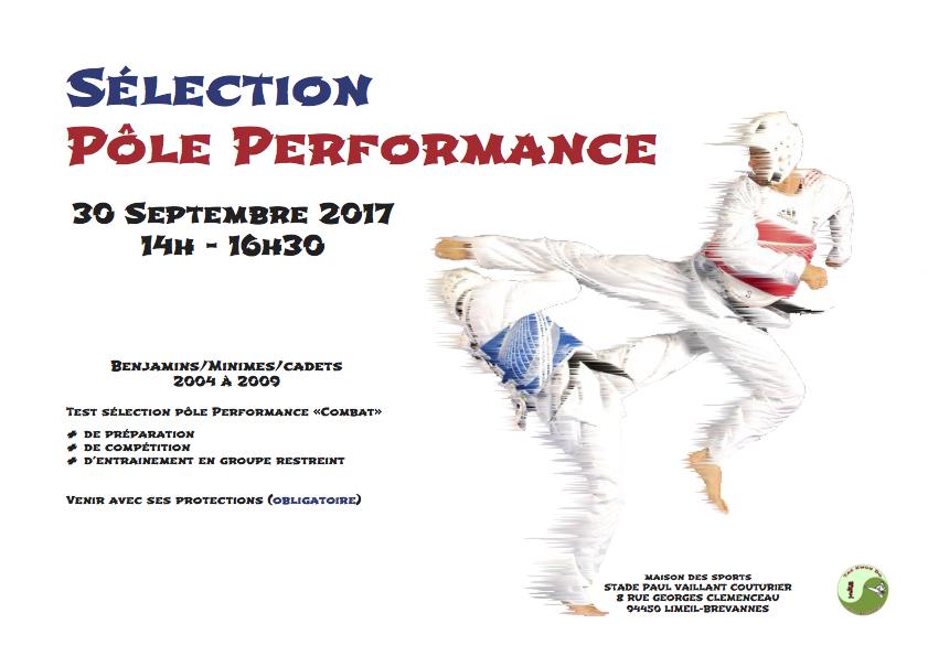 Sélection Pole Performance