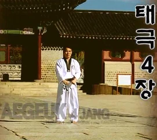 4 Tae Geuk sa jang - Poomse - KUKKIWON
