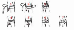 comment nouer sa ceinture