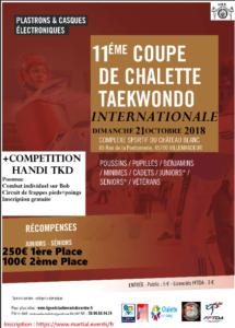 11ème Coupe Internationale de Chalette 2018 @ Complexe sportif chateau blanc   Châlette-sur-Loing   Centre-Val de Loire   France