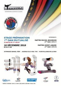 Stage préparation 1er dan